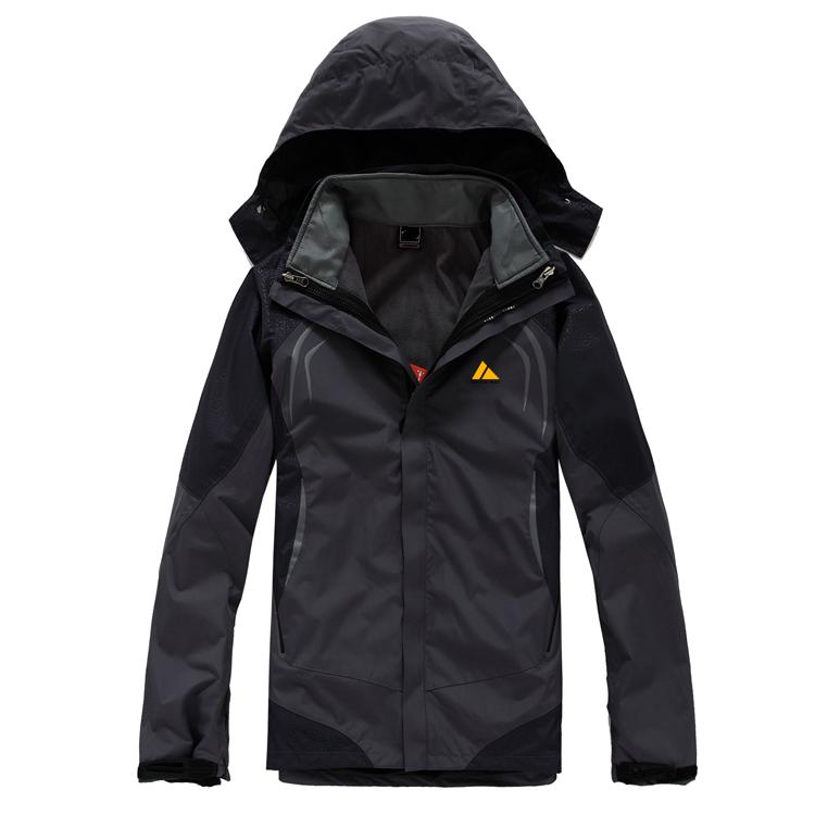 重庆CFY004 在路上男款户外两件套反光冲锋衣