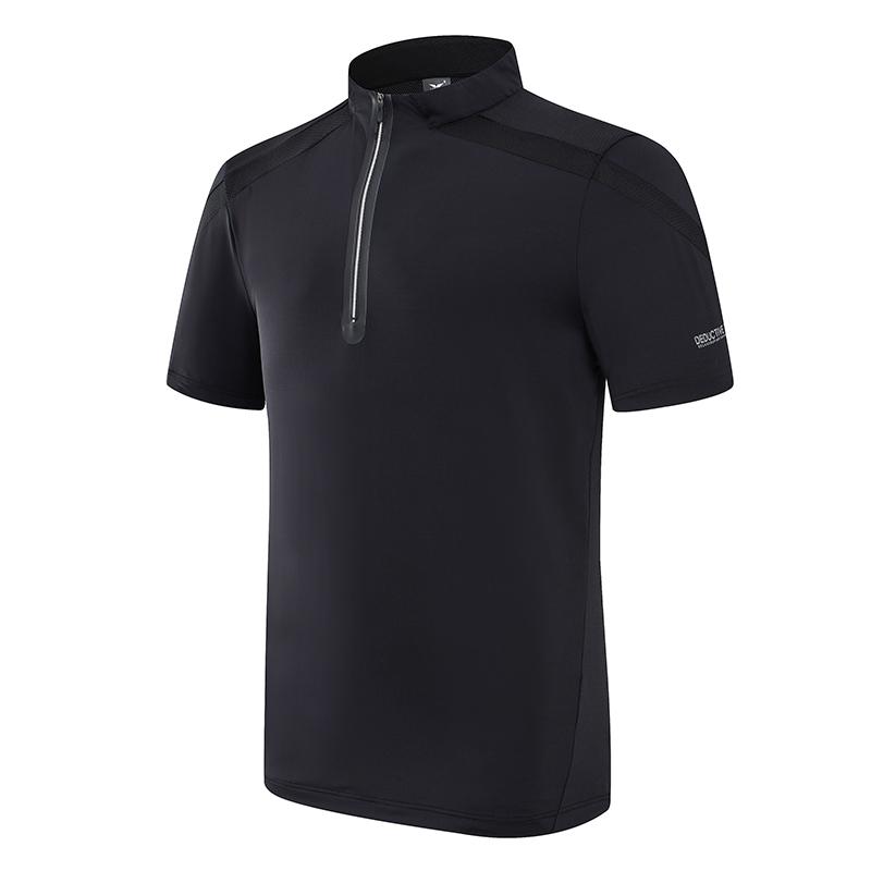 重庆轻量型拉链短袖T恤定制团购